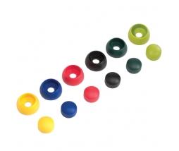 KBT Plastic bolt cover 8/10 čierne - krytky skrutk