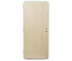 Dvere vstupné plné - 80P bez zámku