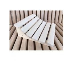 Podhlavník do sauny  - pružný 350x320 lipa
