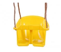 Hojdačka - BABY swing ECO žltá