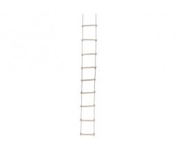 Drevený lanový rebrík  9 priečkový, PP