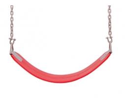 Hojdačka FLEXIBLE červená s reťazou VP