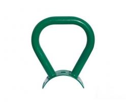 Madlo vahadlovej hojdačky kovové,  zelená