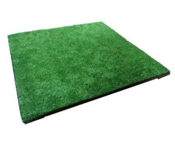 Pryžová podložka tráva  50x50 cm, 25 mm