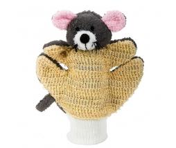 Masážna - umývacia rukavica myška